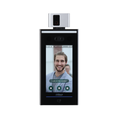Face Recognition Access Controller - Temperature Monitoring Access Control