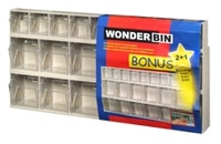 WONDERBIN LIN BIN BEIGE BIN SET OF 3 669 80007