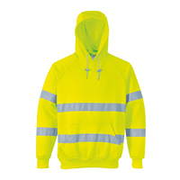 Portwest Hi-Visibility Hooded Sweatshirt Hi-Vis Yellow