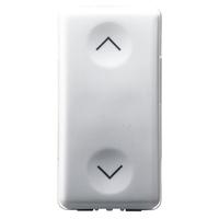 Gewiss 10A 1G 1NO+1NO Arrow Switch Insert