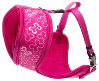"""Rogz Lapz Trendy Wrapz Small Harness - Pink Bones 12½"""" x 17"""" x 1"""