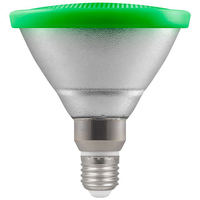 13W LED PAR38 ES Lamp Green