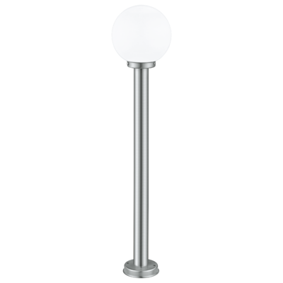 EGLO Nisia Stainless Steel with Globe, 1000mm Bollard