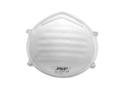 JSP BEJ120-001-B00 FFP2 DISP MOULDED MASK **BOX 20**