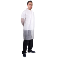 Polypropylene Disposable Coat