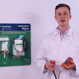 VIDEO: Safely storing your thermometers and technical equipment