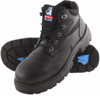 Steel Blue Whyalla 95mm Mid Cut Hiker Safety Boot Black