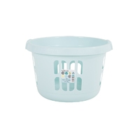 WHAM Round Laundry Basket Duck Egg Blue