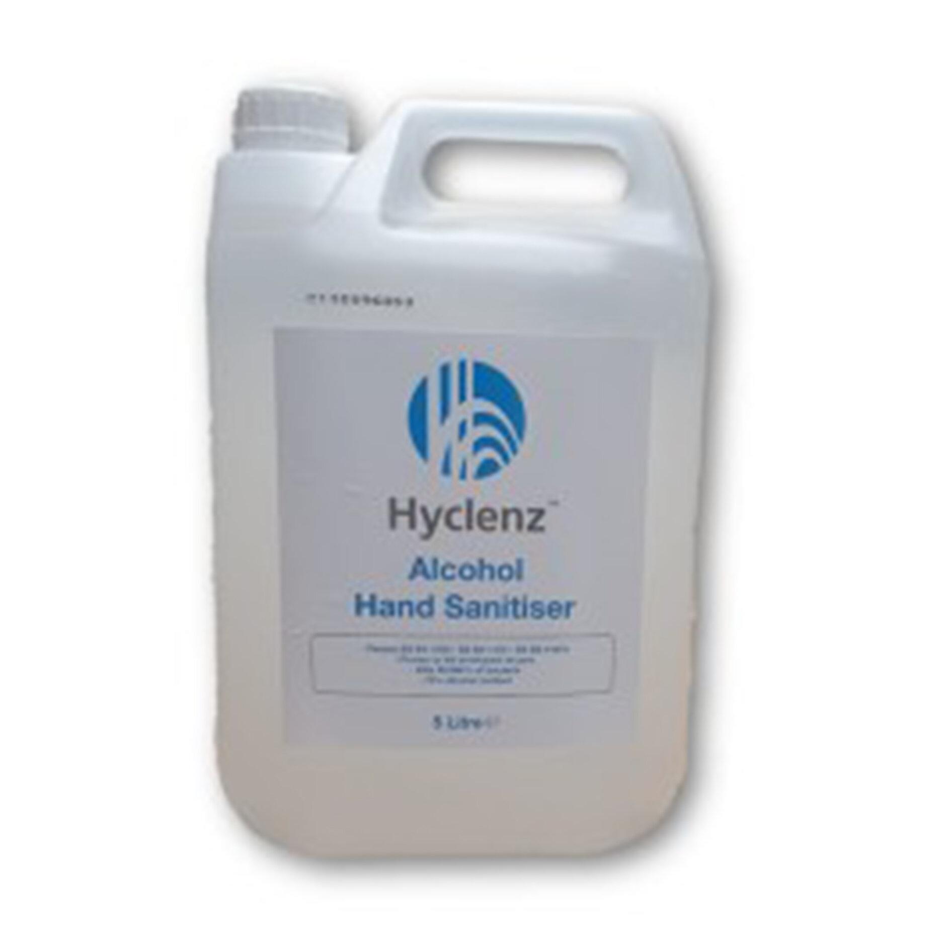 5ltr Hyclenz Alcohol Hand Sanitiser