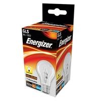 ENERGIZER ECO HALOGEN 80W (100W) B22 CLEAR GLS LAMP
