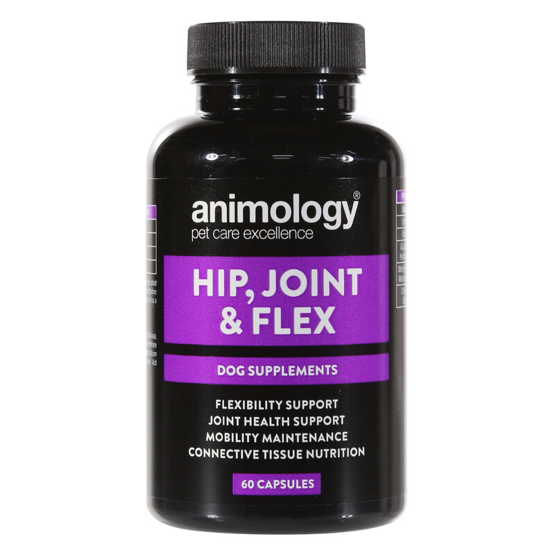 Animology Hip, Joint & Flex Dog Supplement x 60 capsules