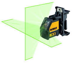 DEWALT LASER LEVEL 2 WAY LINE LASER ( GREEN ) DW088CG-XJ