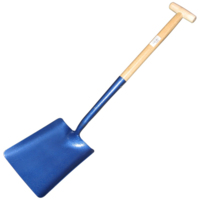 TALA SQUARE MOUTH SHOVEL T HANDLE NO 2