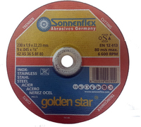 S/S Gold Star Cutting Disc D/C 230mm x 1.9mm