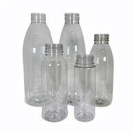 PET Plastic Juice Bottles