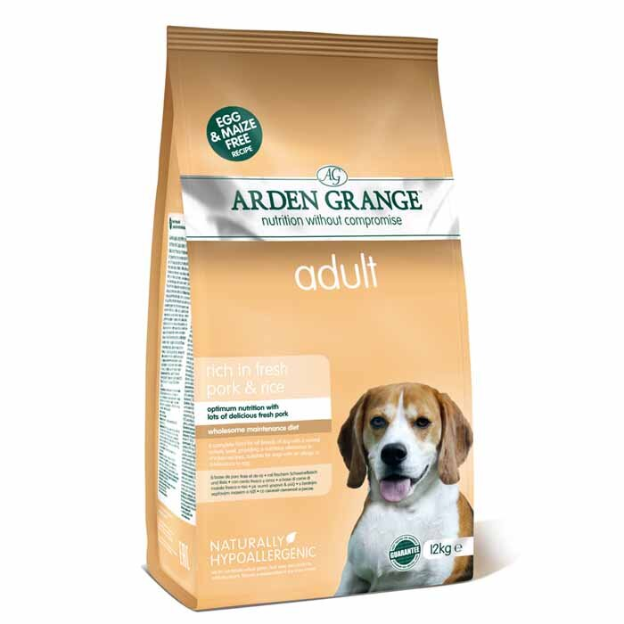 Arden Grange Adult – rich in fresh pork & rice