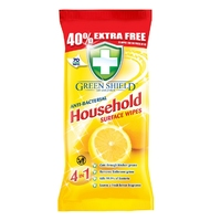 Green Shield Anti-Bacterial Household Wipes 70pk (replaced 50pk)
