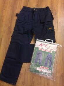 TROUSERS SIZE 38 BLACK
