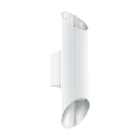 EGLO Viegas White and Silver Inside 2x3x3w 3000k LED | LV1902.0110