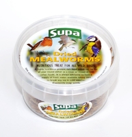 Supa Dried Mealworms 225ml x 6