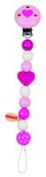 Dummy Chain Heart pink & white (P/Sng Min 1)