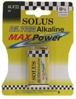 SOLUS 6LF/PP3 12X1 BATTERIES