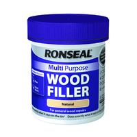 Ronseal Multi Purpose Wood Filler Tub 250g Natural