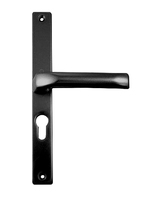 HOPPE LEVER/LEVER PZ48MM BLACK