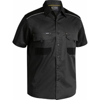 Bisley Flex & Move Cotton Mechanical Stretch Short Sleeve Shirt