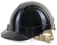 B-Brand Vented Black Helmet