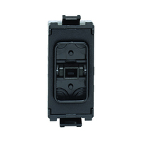 Schneider Ultimate Low profile 10Amp way grid switch Black|LV0701.1048