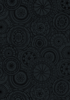 50CM X 100M BLACK WHEEL PAPER