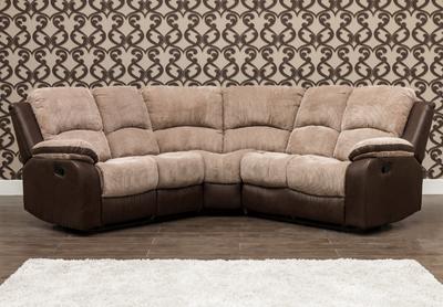 Milton Fabric Corner Sofa 1