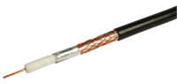 PF100 COAX CABLE BLACK CAI APPROVED (COIL 100M)