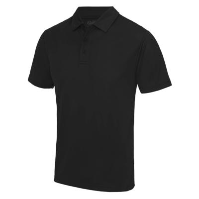AWDis JC040 Coolweave Poloshirt Black