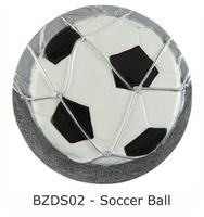 70mm Soccer Ball Blaze Disc