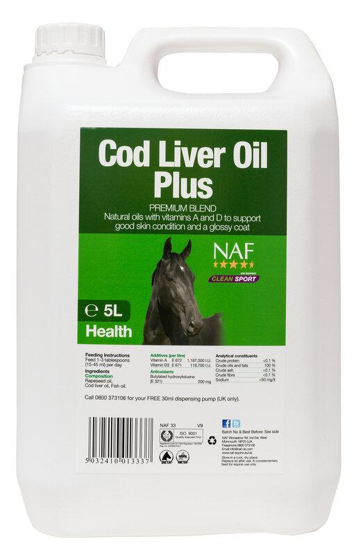 NAF Codliver Oil 5L