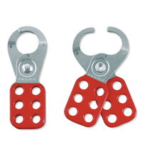 Master Lock Steel lockout hasp, 25mm jaw clearance