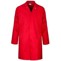 Supertouch Polycotton Food Coat, Red
