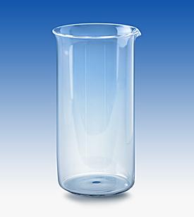 High Form Beaker 50ml, Graduated, Borosilicat