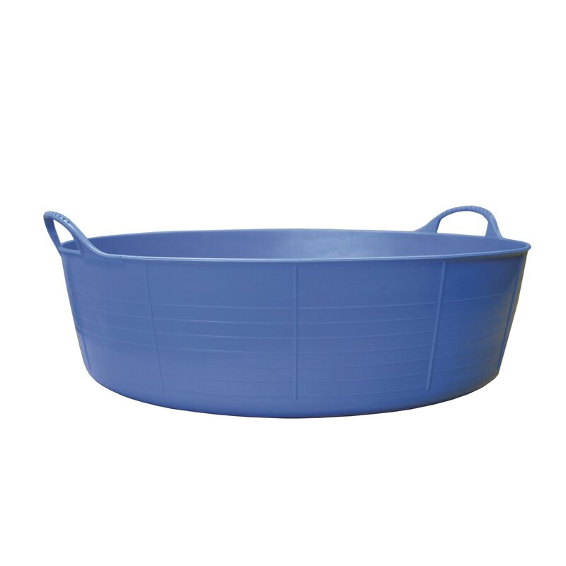 Red Gorilla Tub Blue Small Shallow 15L
