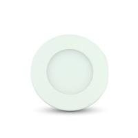 3W LED Premium Panel Downlight - Round 3000K