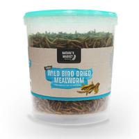 Kingfisher 100G Tub Dried Mealworms Wild Bird Feed (BFMW01)