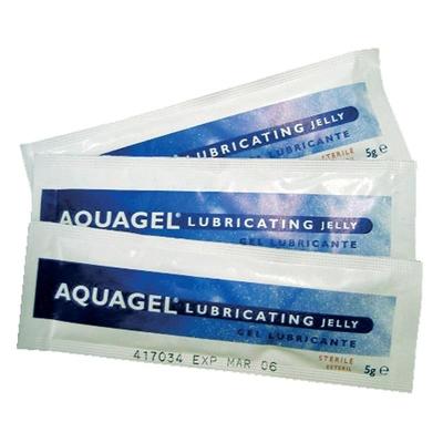 Aquagel Lubricating Gel 5g (10)