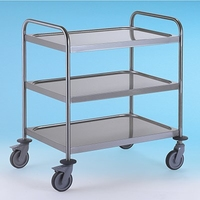 Trolley 3 Tier S/S 900x550x960mm
