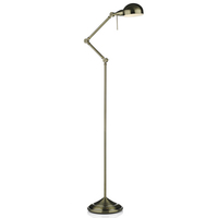 Ranger Floor Lamp Antique Brass