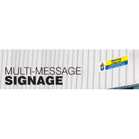 Multi-Message Safety Signs