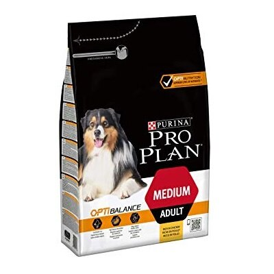 Pro Plan Dog Medium Adult OptiHealth 3kg