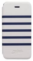 Jean Paul Gautier iPhone 5 Blue/White Folio