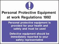 Mandatory and Protective Clothing Sign MAND0010-0915